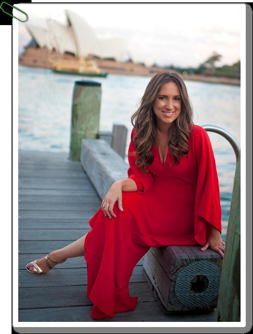gina-red-dress