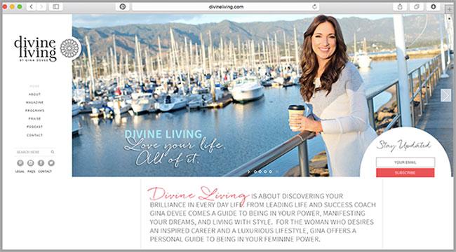 divine-living-homepage
