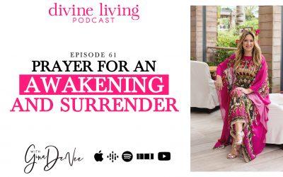 Prayer for an Awakening and Surrender