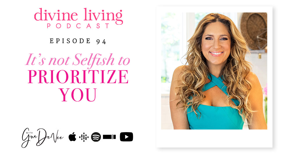 It's Not Selfish to Prioritize You